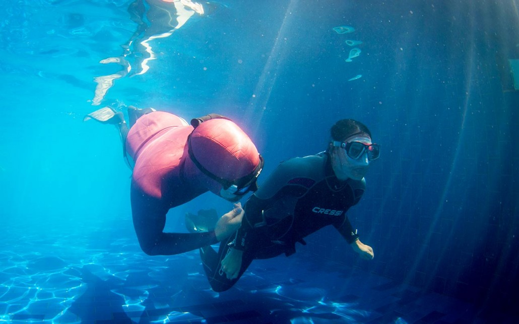 Learn Freediving in Indonesia with FREEDIVE FLOW